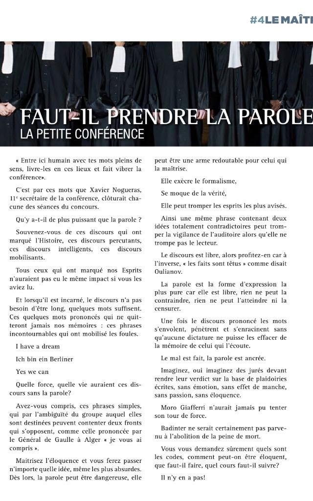 article Carole-Olivia MONTENOT part 1