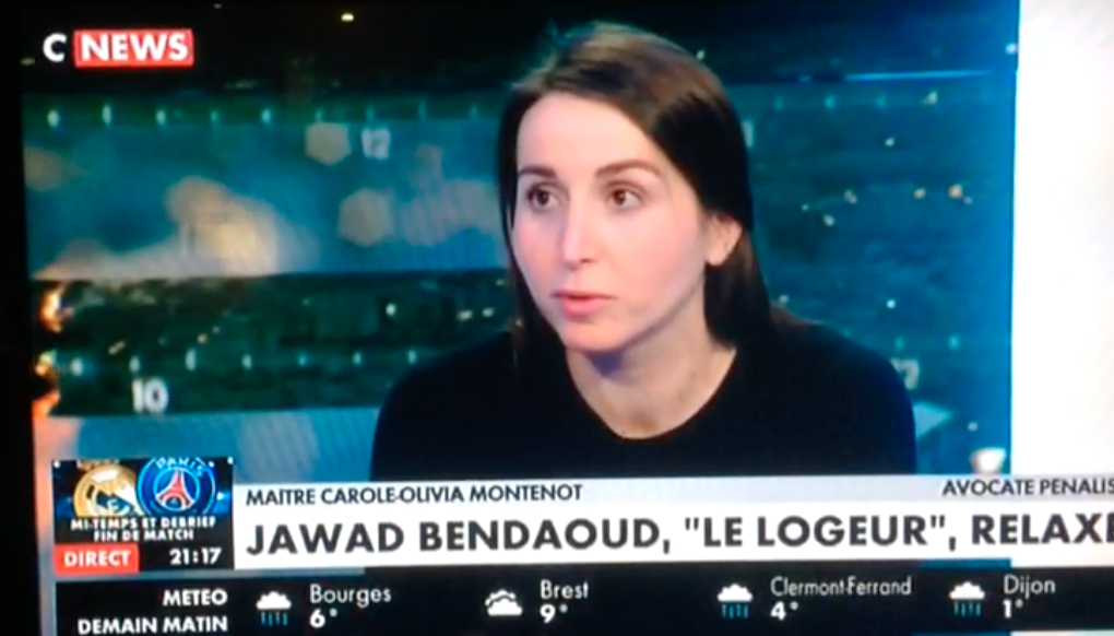 La relaxe de Jawad BENDAOUD