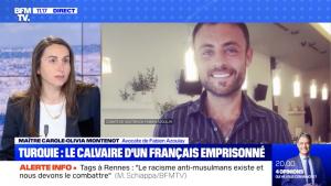 Maître Carole-Olivia MONTENOT sur BFMTV sur le dossier de Monsieur Fabien AZOULAY.